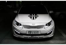 Тюнинг Киа Оптима - аэродинамический комплект расширения кузова - от корейского ателье FandampB.
