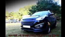 Тюнинг Hyundai ix35 - передний обвес от компании JSW.