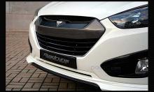 Тюнинг Hyundai ix35 - накладка на решетку радиатора окрашенная - от компании RoadRuns.