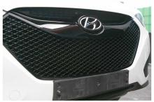 Тюнинг Hyundai ix35 - решетка радиатора Bentley Style - от компании D8.