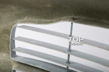 Пример правильной сборки лезвий - 37 Передний бампер - Обвес Aston на Hyundai Tiburon Coupe GK