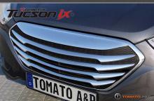 Решетка радиатора - тюнингHyundai (Tucson) iX35, от производителя Tomato.