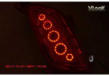 Тюнинг оптики для Хендэ Велостер - светодиодные катафоты