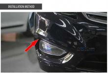 Тюнинг - дневные ходовые огни на Hyundai Granduer HG