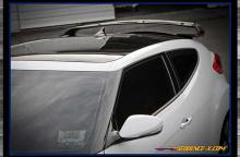 Тюнинг Хендай Велостер - спойлер GT на заднюю дверь.