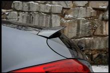 Тюнинг Хендай Велостер - накладка на заднее стекло - от ателье ArtX.
