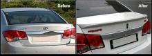 Лип-спойлер Exos на Chevrolet Cruze