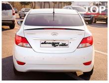 3946 Лип-спойлер MyRide + стоп сигнал на Hyundai Solaris