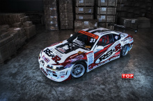 Набор для полной оклейки кузова автомобиля - цельно литыми наклейками в стиле RS R