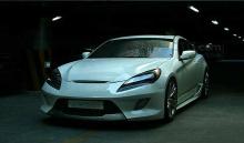 Тюнинг Hyundai Genesis Coupe - передний бампер Cuper