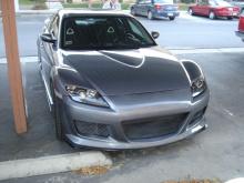 Комплект тюнинг обвеса на Mazda RX-8