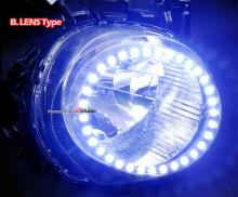 Тюнинг Ниссан Жук - светодиодные модули в переднюю оптику