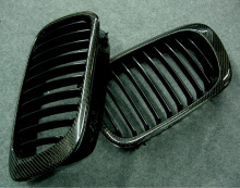 Тюнинг BMW 3 купе - карбоновые решетка радиатора