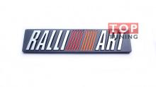 Алюминиевый шильд на клеевой основе Rally Art