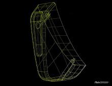 Накладки на задний бампер, диффузор - Тюнинг Мерседес СЛК 55 АМГ.