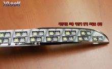 Модули светодиодных ходовых огней + повторителей поворотов - Тюнинг оптики - Фольксваген Пассат ЦЦ.