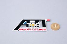 4012 Шильд алюминиевый на клеевой основе ABT Sportline 95x38 mm