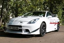 4019 Элероны переднего бампера - Обвес Varis Arising 3 на Toyota Celica T23