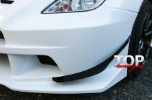 Накладки на передний бампер - Элероны - Тюнинг Тойота Селика СТ 230 - Обвес Варис Арайзинг 3 (пара).