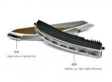 Тюнинг оптики Мерседес C-Class W204 - светодиодные дневные ходовые огни