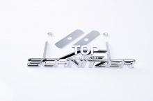4028 Эмблема алюминиевая для решетки радиатора AC Schnitzer 160x33 mm на BMW