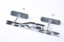 4028 Эмблема алюминиевая для решетки радиатора AC Schnitzer 160x30 mm на BMW