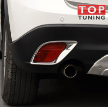 Накладки на задние противотуманные фонари - Тюнинг Mazda CX-5.