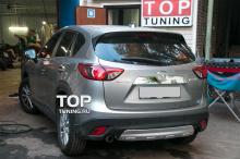 4058 Молдинг крышки багажника Guardian Хром на Mazda CX-5