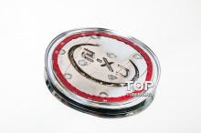 4064 Накладка на лючок бензобака Guardian Хром на Mazda CX-5