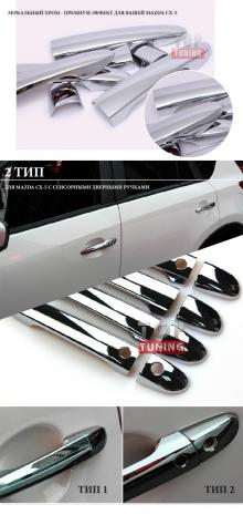 Накладки на дверные ручки - Стайлинг Mazda CX-5 - Комплект Guardian.