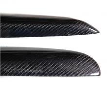 Тюнинг VW Golf 6 - карбоновые накладки на фары.