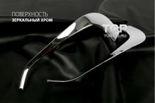 4099 Боковой молдинг решетки радиатора Auto Clover B221 Хром на Hyundai ix35