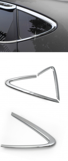 Хромированные накладки на задние форточки окон - Стайлинг Hyundai ix35.