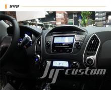 Подставка под дополнительный монитор или навигационную систему - Дополнительное оборудование Hyundai Ix35 (Tucson).