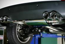 Выхлопная система - комплект двойного выхлопа - Тюнинг JUN B.L. для Хендай АйИкс35.