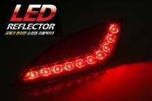 LED рефлекторы-катафоты заднего бампера Камили - Тюнинг Хендай АйИкс35.