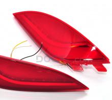 LED рефлекторы-катафоты заднего бампера Камили - Тюнинг Хендай АйИкс35 - Тип 2.