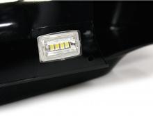 Зеркала с габаритами, поворотниками и вежливой подсветкой пола (светодиоды) - Стайлинг Хендай АйИкс 35 - от производителя Камили.