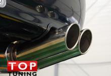 Термоизоляционный противовибрационный профиль прокладка для защиты бампера от нагрева в зоне выхлопной системы.