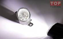 Противотуманные фонари с EpistarLED диодами - замена штатным фонарям - Тюнинг оптики Ниссан Икс-Трейл.