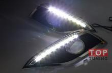 Модули светодиодных ходовых огней - Тюнинг оптики Хонда ЦР В (Новый кузов).