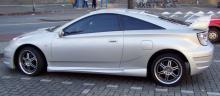 Полноценный бампер с гражданской высотой, выразительный и стильный - для спокойного тюнинга Селики в кузове St230.