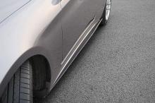 Тюнинг накладки на пороги Hyundai Genesis Coupe от M&S