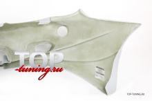 4186 Передний бампер - Обвес Veil Side Style 1 на Hyundai Tiburon Coupe RD