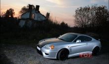 Аэродинамический комплект обвеса Stark от производителя, фирмы Cluster - Тюнинг Hyundai Coupe (Tiburon) 3, кузов GK.
