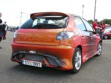 Альтернативное решение в тюнинге Пежо 206 1 поколения для изменения порогов автомобиля.