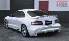 Задний бампер - Легендарный обвес VeilSide на Toyota Celica ST 205 GT-Four от производителя (Польша).