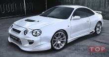 Еще один вариант порогов на кузов СТ20* для Тойота Селика предложенный производителем для комплекта Вейлсайд.