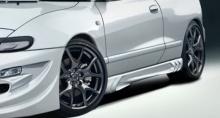 Накладки на пороги - Обвес Вейлсайд ГРТ - Тюнинг Тойота Селика Ст180 от производителя.