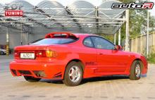 Один из самых привлекательных с точки зрения Топ Тюнинг обвесов из предложений на Тойоту Селику в кузове ST180 от производителя Auto R.